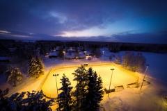 Alavieska virin jääkiekkokaukalo